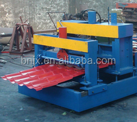 Roof tile floor tile rolling color steel floor deck roll forming machine