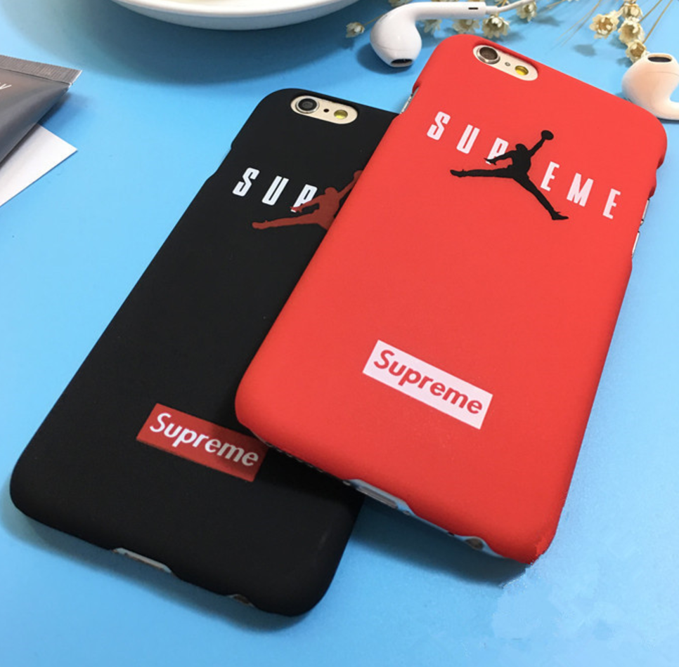Bew Air Jordan X Supreme Phone Hard Case & Cover basketball for iPhone 6 and iPhone 7 Plus