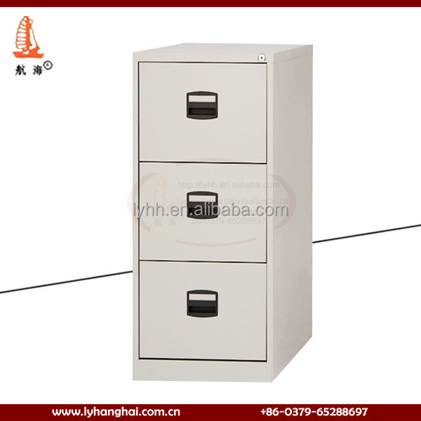 Office Furniture Metal Material RAL Color 3 Drawer Slide Cabinets Hanging Filing Cabinets Steel Office