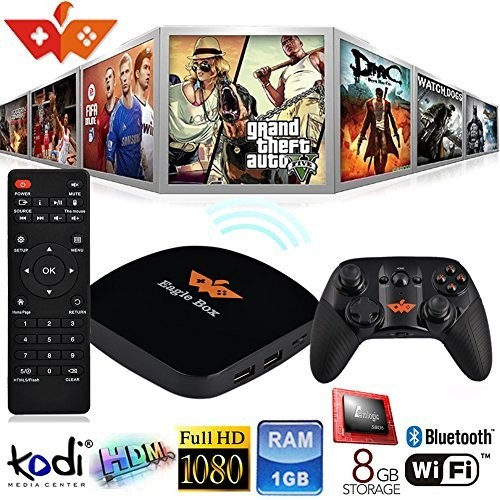 S905X Eagle Smart Android TV Box Web Browser Set Top Box with iptv box channels
