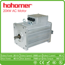 high power low price 20kw 3 phase induction AC motor