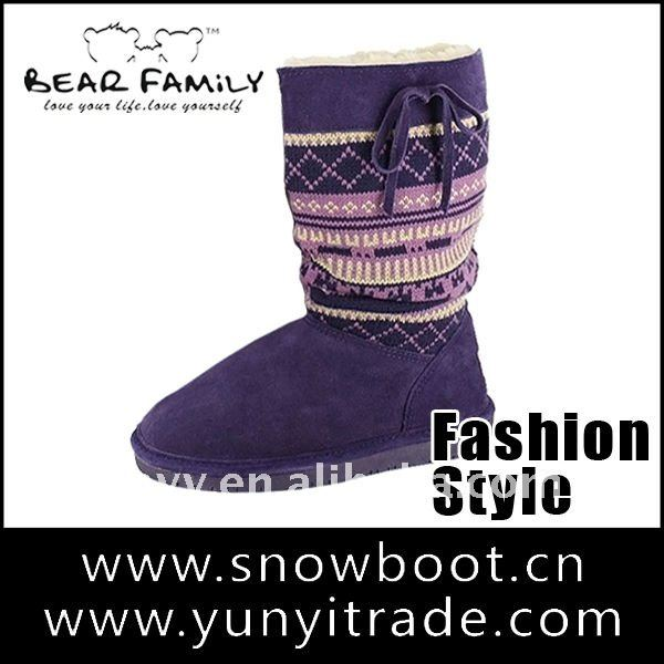 Good Quality cardy winter snow boots newest style fashion boot
