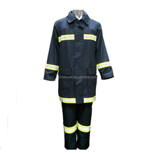 nomex fire fighting protective suit with reflective tapes