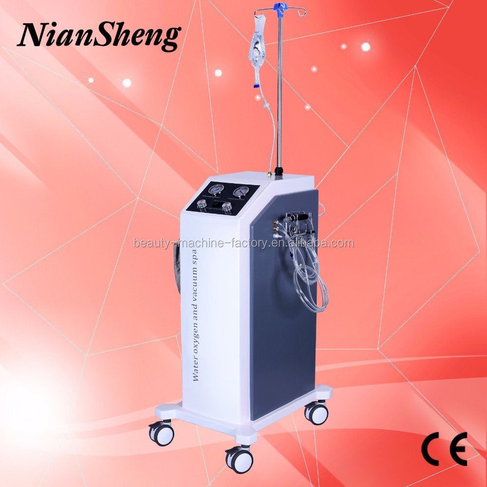 2016 Professional Water oxygen Skin shining/ oxygen jet facial machine