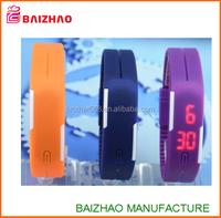 custom logo Silicone Digital LED Sports Bracelet Wrist Watch ,new fashion led watch