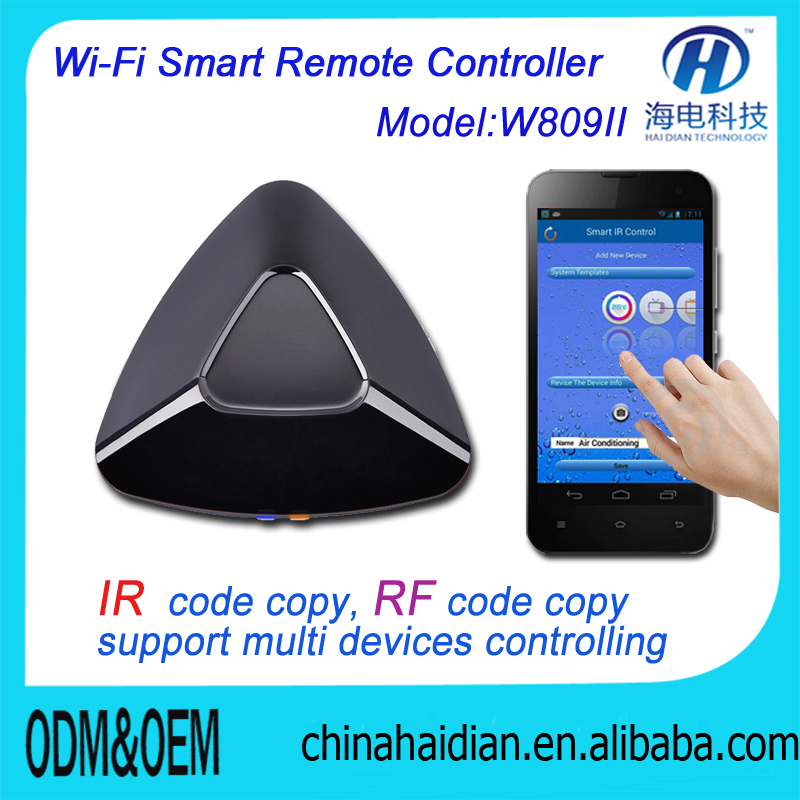 Smart Home Universal Intelligent Controller WIFI IR RF Remote Control For Light Switch Center System