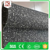black with white fleck anti-slip ground protective passage walkway gym rubber roll flooring Trade assurance