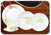 Stock AB Grade 30% OFF tableware Ceramic/Decal and brazil dinner set / Porcelain dinnerware sets