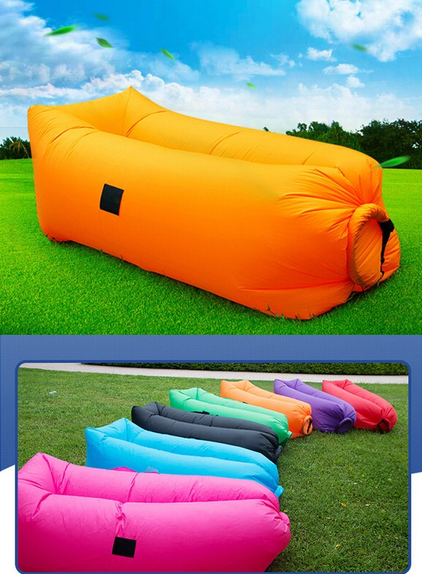 2017 Outdoor Camping 3 Season Fast Inflatable Hangout Sleeping Air Bag