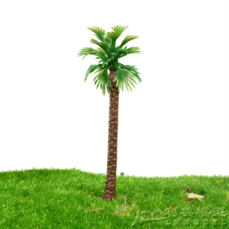 ho OO G crafted scale model palm for architectural miniature model layout excellent model materials