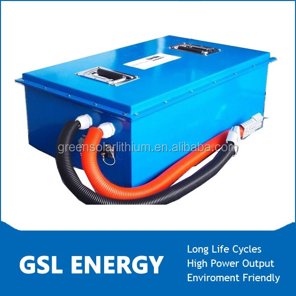 rechargeable lithium battery 48v 60Ah for golf carts