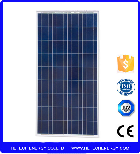 painel solar fotovoltaico /OEM sollar panel 125watt 18v with polycrystalline silicon