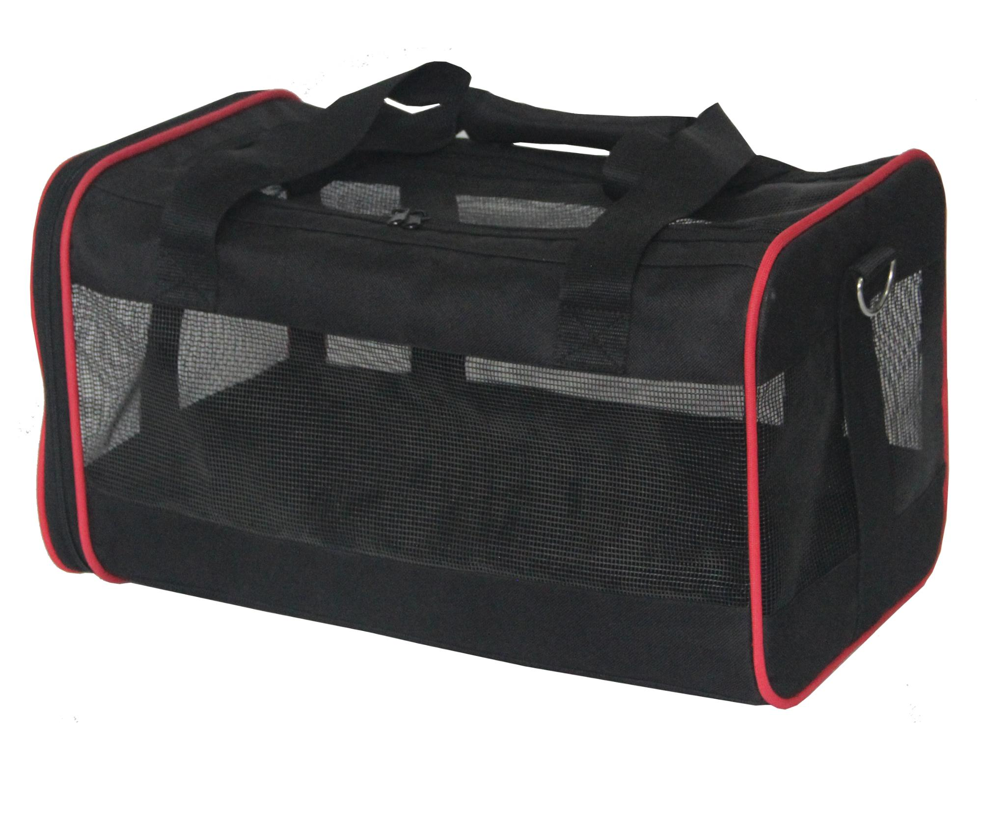 Carrier of pet travel foldable pet crate for dog and cat