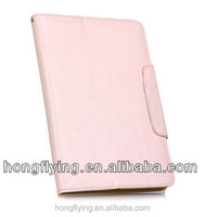 Universal wallet style case PU leather with stand function for ipad mini