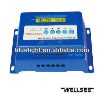 WS-SC2460 40A 12V 24V 48V LCD three phase/ 3 phase solar <strong>charge</strong> <strong>controller</strong> CE,RoHS