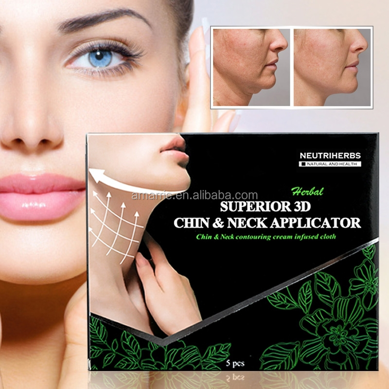 Disposable Neutriherbs Superior Face Fat Removal Cream Herbal Slimming Treatment Face and Neck Masks for Loose Skin Belly Fat