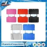 For 3DS XL / LL colorful protective silicone case