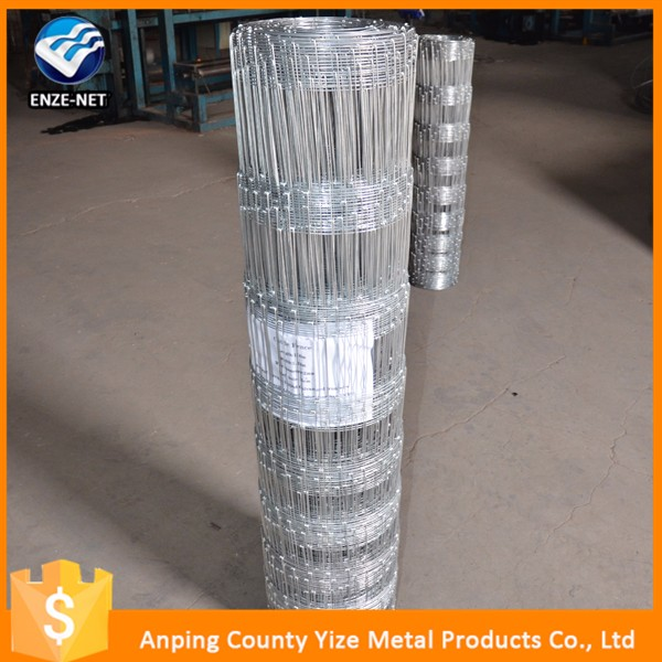 Fixed-Knot cattle fence,field fence (wire mesh fence for farm) exporting to Australia and South Africa (Professional Factory)