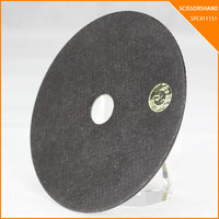 china manufactrer SCISSORSHAND 4.5inch 115x1x22mm cutting disk cutting discs aluminum abrasives cut off wheel