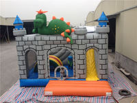 Dinosaur Jumpy Humping Inflatable Bouncy Castle Outdoor Playground