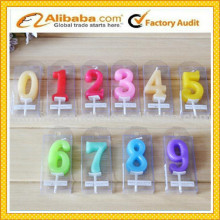 Fashion Colorful Birthday Number Candles