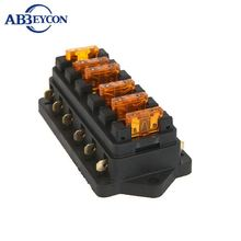 DC32V 8 Way Terminals Circuit ATC ATO Car Auto Blade Fuse Box Block holder