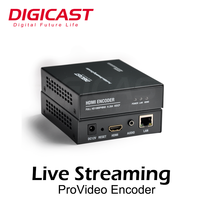 DMB-8800A-EC IPTV/OTT Solution Compact 1080P HD MI H.264 Mpeg Video Encoder for HTTP/RTMP/RTSP/UDP out