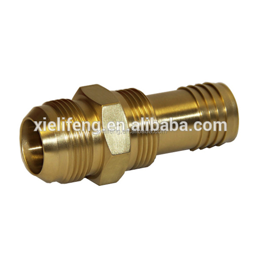 China Manufacture Brass Precision Machining Part/precise Brass Machining Parts/high Precision Brass Cnc Lathe Parts For Machine