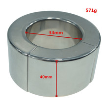 570g stainless steel magnet large size cock stretcher