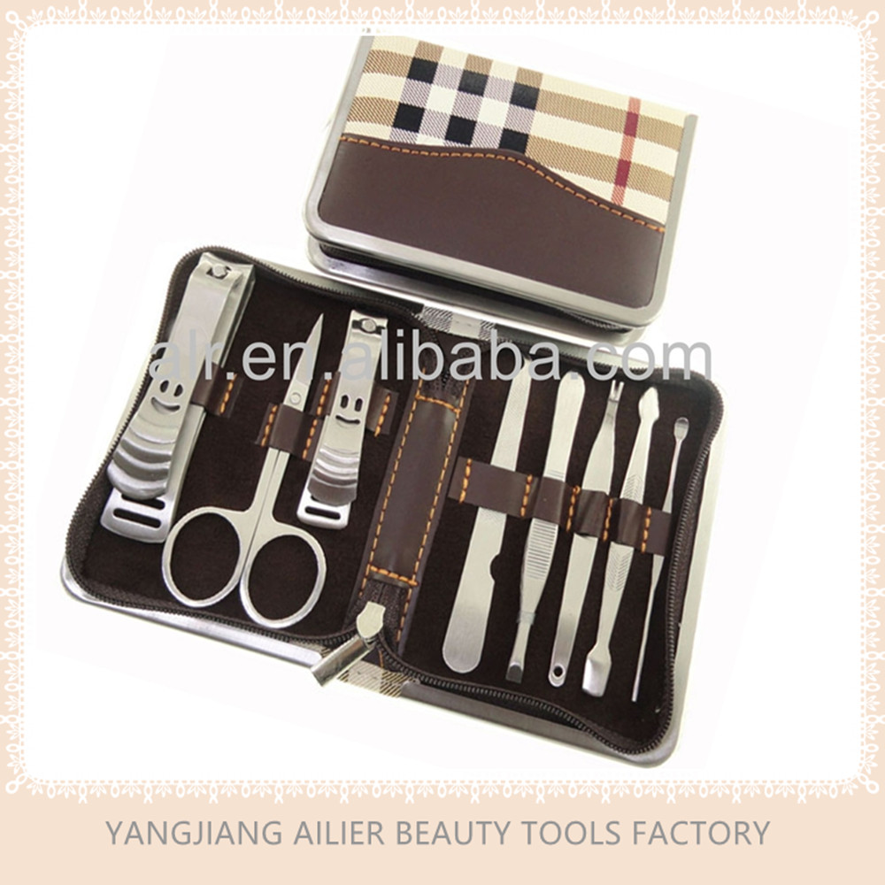 High Quality Professional Manicure Set, 8 in 1 Manicure Sets For Promition Gift, Great For Personal Care and Grooming
