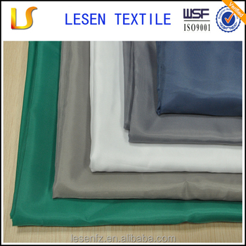 2018 Lesen Textile 100% polyester waterproof taffeta polyester fabric