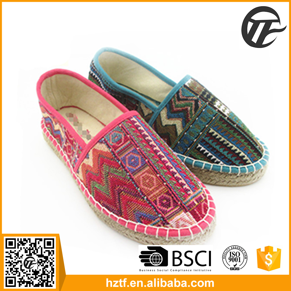 New design china ethnic style women sandals boots shoes
