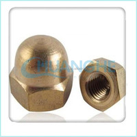Top High Quality Hot Sale ANSI DIN JIS ISO Standard brass acorn dome head cap nut