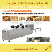 Hot selling nutritional cereals snack granola bar cutting making machine