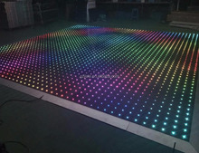 RGB Led Night club dance floor light Disco Dance floor