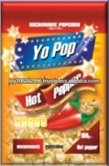 Yo Pop Snack Food Pepper Microwave Popcorn