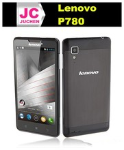 Wholesale Lenovo P780 Mobile Phone MTK6589 Quad Core 3G Smartphone 5 inch IPS 8GB Android 4.2 Multi language-White/Black
