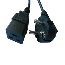 Brand new 16awg 1.0mm c19 power cord 6ft