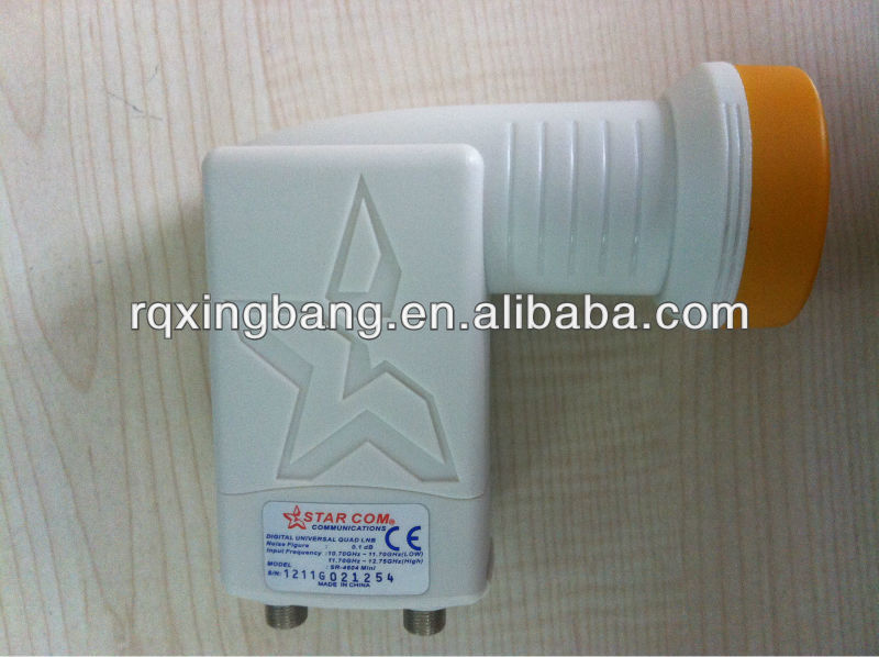 Low loss Universal Ku Band Twin circular LNB (GKF-2132)