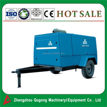350 cfm 10Bar Diesel Portable / Mobile Air Compressor for Mining