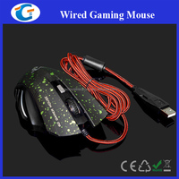 1600dpi 6d wired usb high quality game mouse