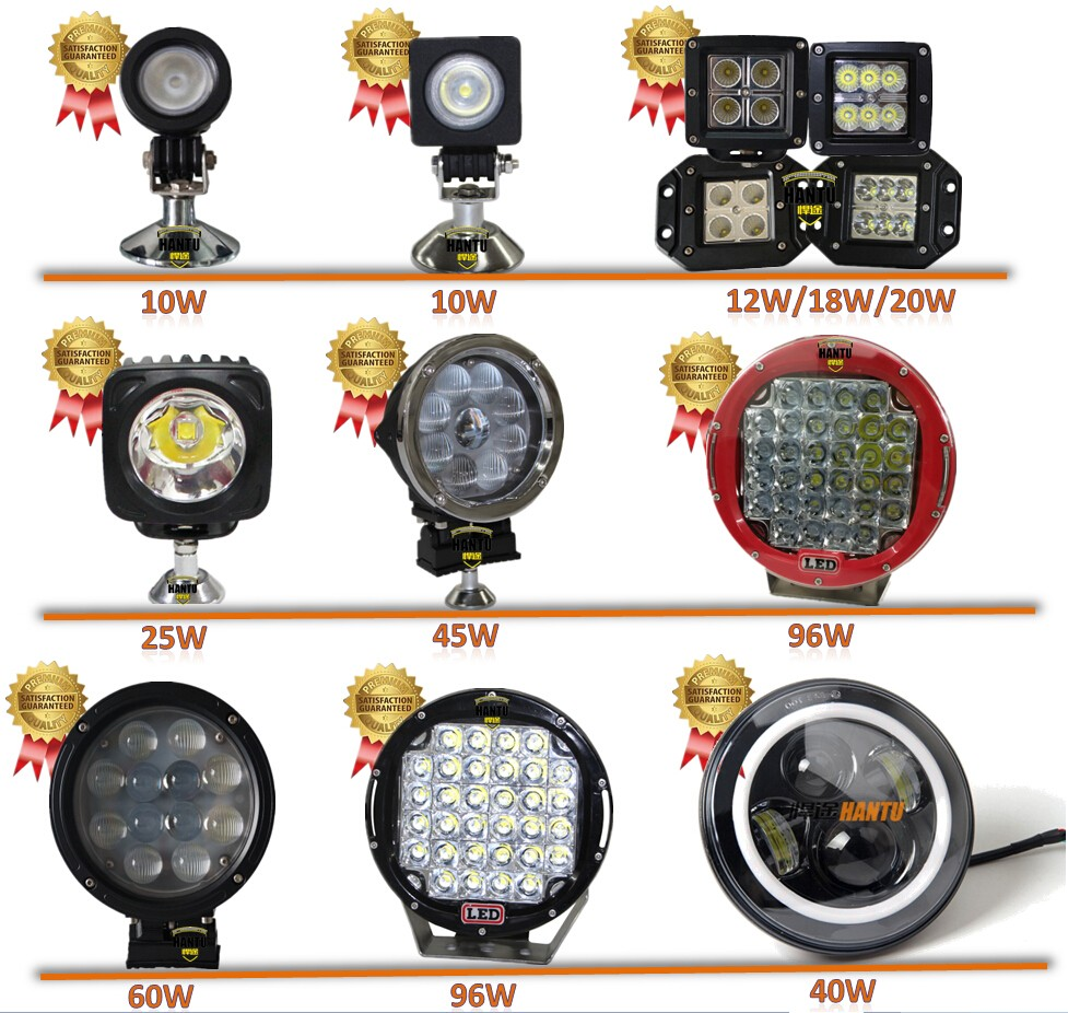 Series for led work light led work lights