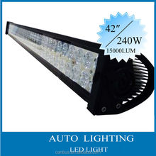 "accessoires auto 9-70v 42"" 240W 15000LM led lamps for truck SUV AUTO,led lamps for truck"
