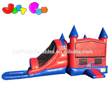 module inflatable bouncer water slide combo, cheap inflatable bouncer for sale