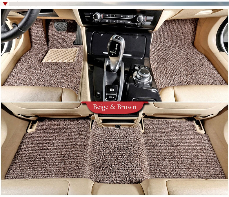 Colorful Decorative PVC Material Car Foot Mat with High Quality