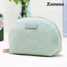 Custom Luxury Fabric Cosmetic Bag, Wholesale Ladies' Fashion Stand Up Pouch Bags With Zipper
