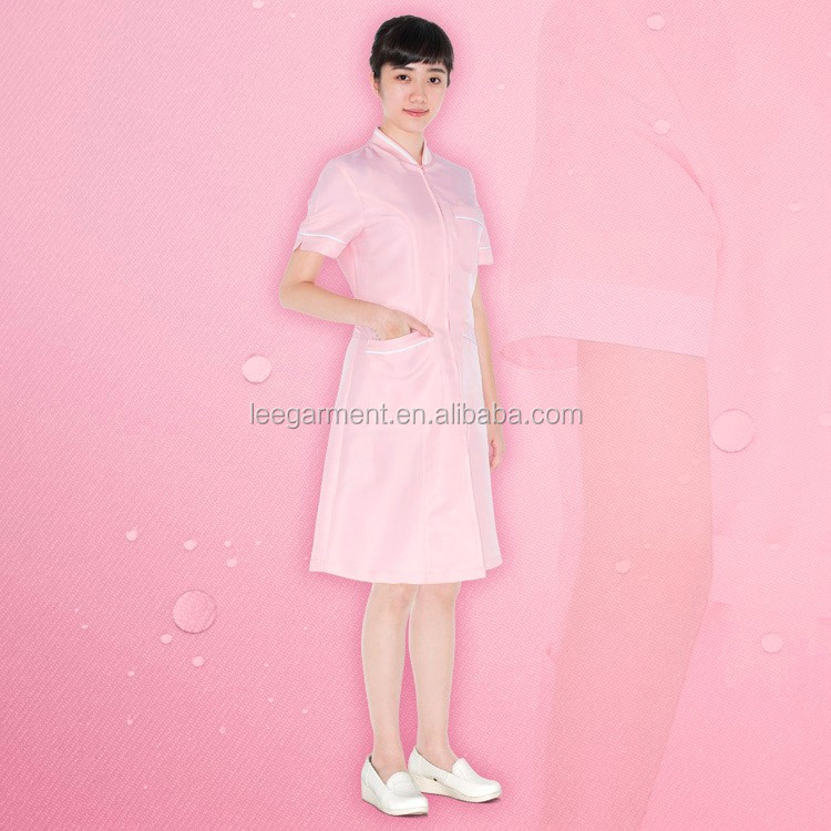 Nurse and Beauty Care Uniform Dress