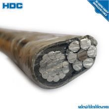 Aerial bundled cable 1kV aluminium PVC/XLPE/PE insulated ABC cables