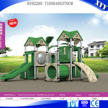 Outdoor play equipment kids playground with swing sets
