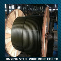 steel wire rope for elevator 8X19+FC